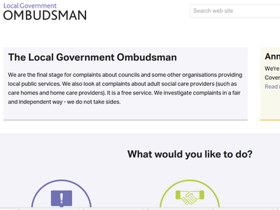 The Local Government Ombudsman